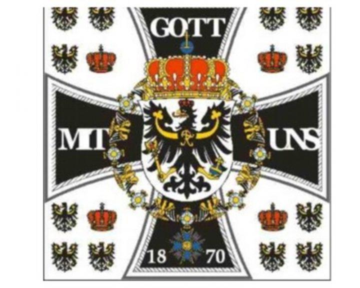 Historische Duitse Vlag FP-1956
