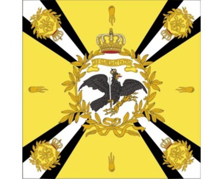 Historische Pruisse 1890 Vlag FP-2423