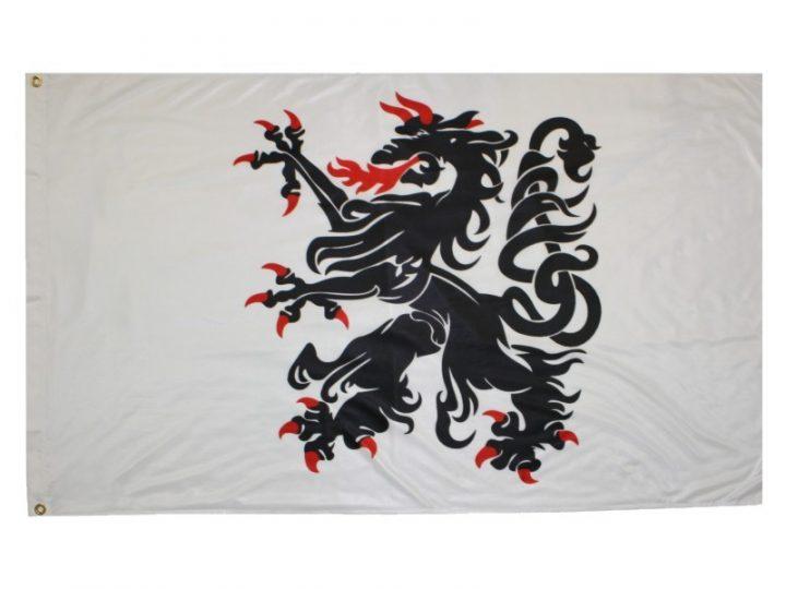 Historische Sloweense Panther Vlag FP-1999