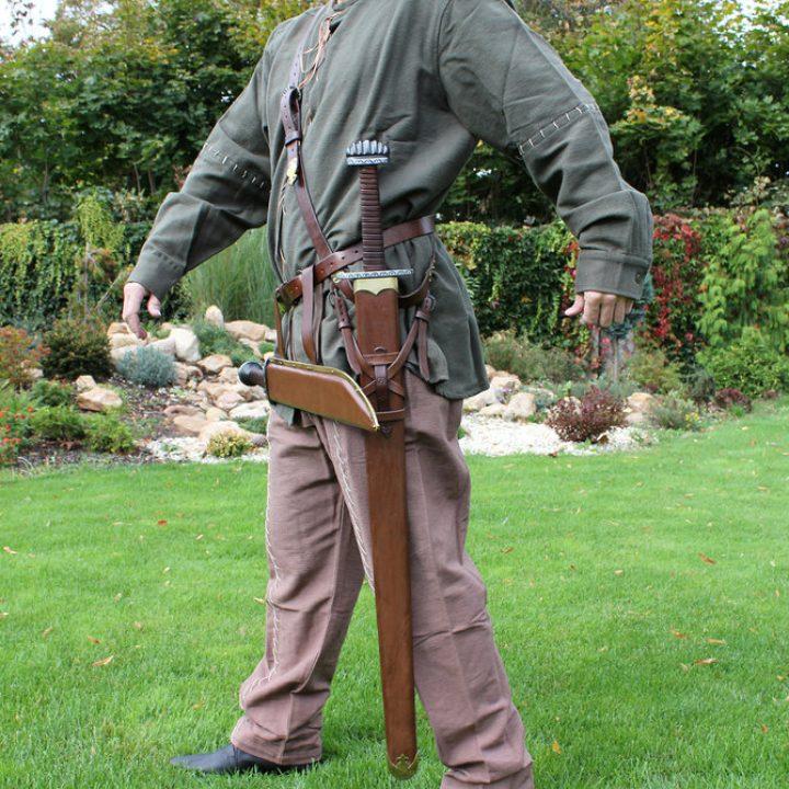 Wikinger Schwertscheide