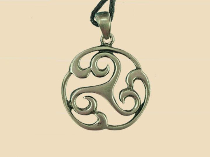 Keltische Triskel Hanger Tin