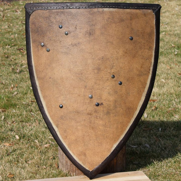 Battle Ready Schild Marburg 13e-14e eeuws