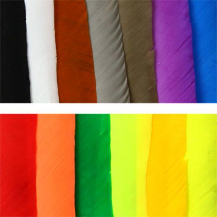 Veren volle lengtes in allerlei kleuren