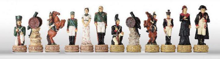 Napoleon tegen Rusland Schaakfiguren