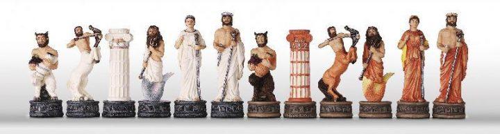 Griekse Mythologie Schaakstenen