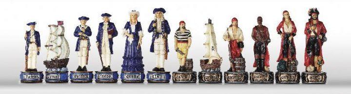 Piraten Schaakstukken