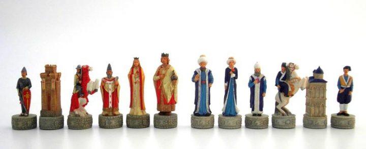 Kreuzfahrer gegen die Turken Schachfiguren IF-R73735