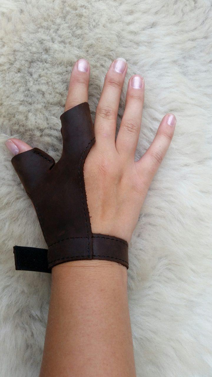Pijlhandschoen Traditioneel voor Rechterhand