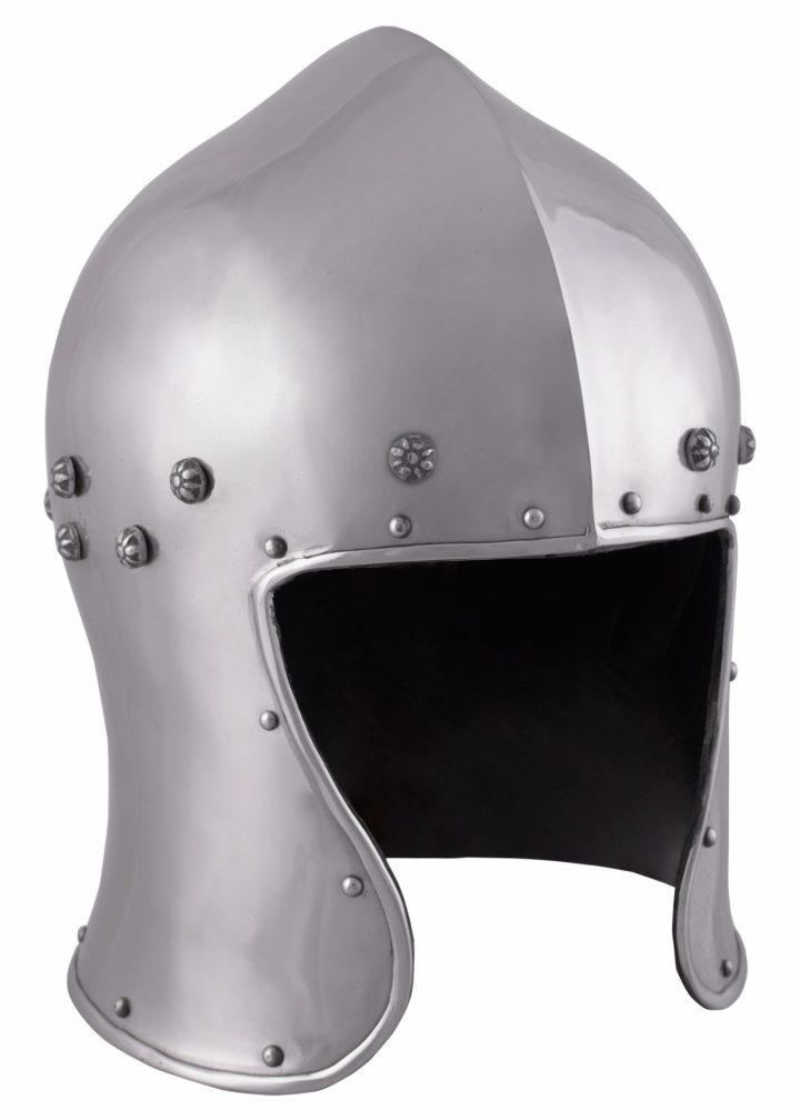 Noord Italiaanse Barbuta Helm uit 1465