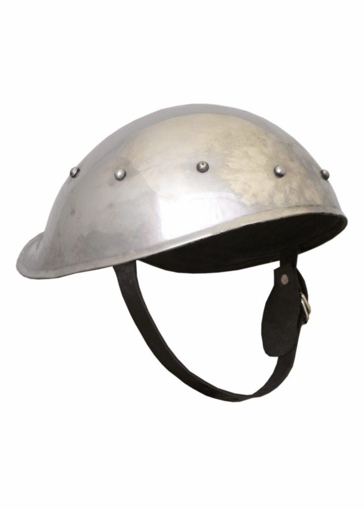 Boogschutters Helm 14e eeuws