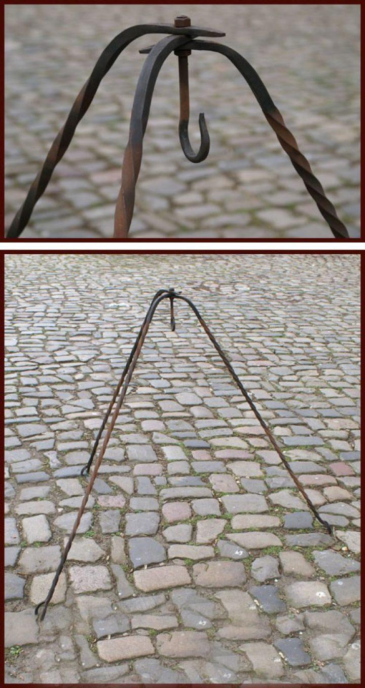 Driepoot Gesmeed 115 cm