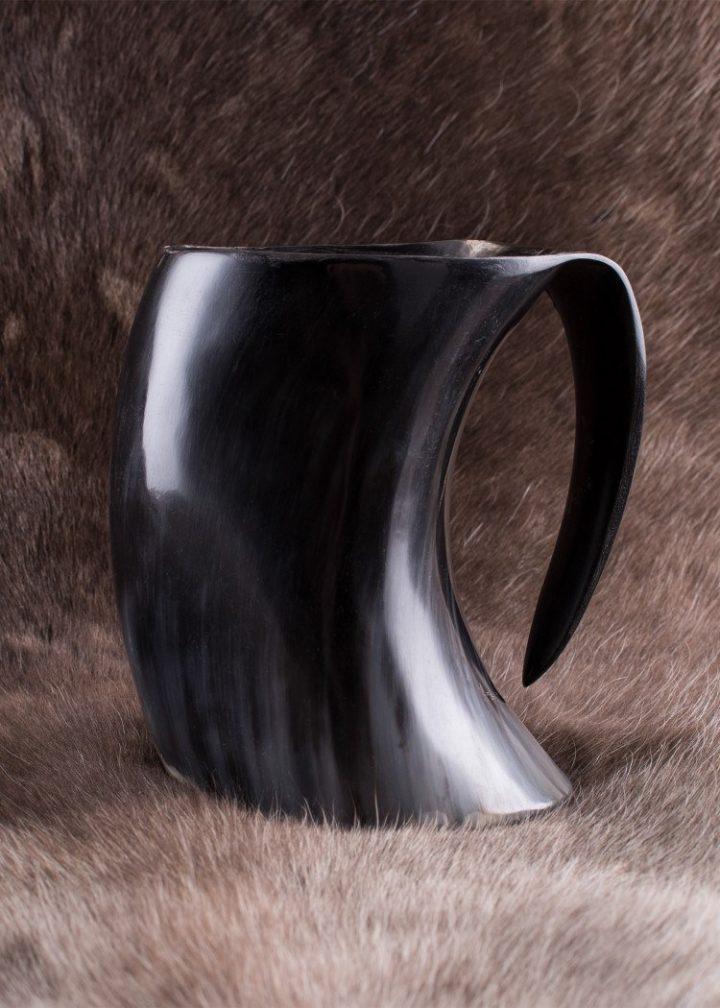 Middeleeuwse Hoornen Drinkbeker 650-800 ml.
