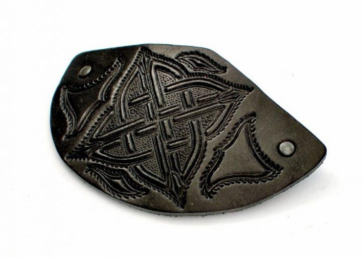 Haarclip Keltisch Zwart