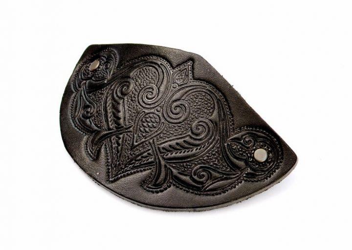 Haarclip Middeleeuws Zwart