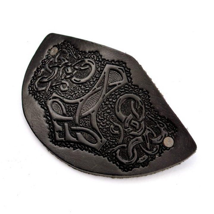 Haarspeld Viking Zwart
