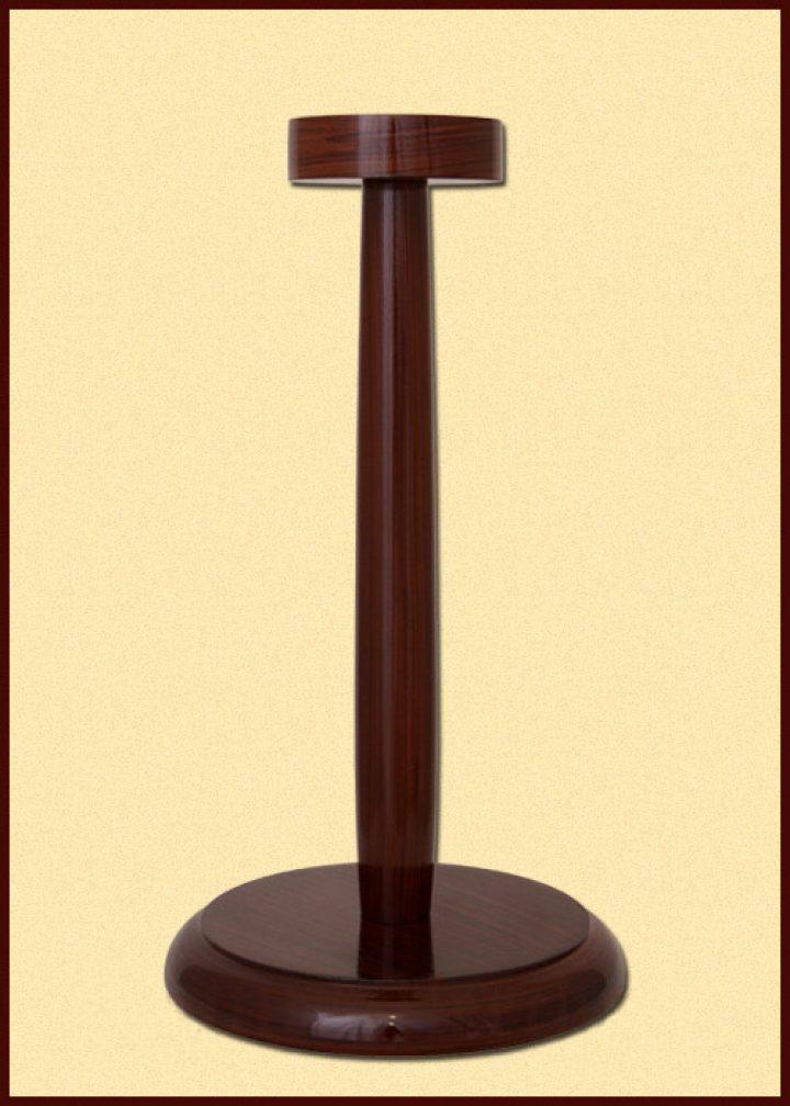 Helmstandaard Bruin