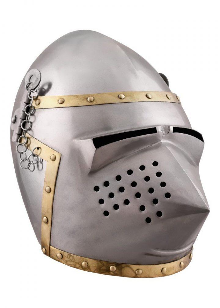 Hondekop - Varkenssnuit Helm rond 1390