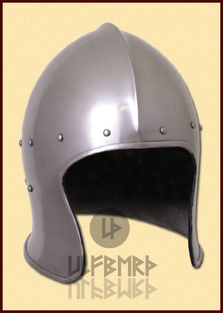 Italiaanse Barbuta Helm ca. 1440 in M en L