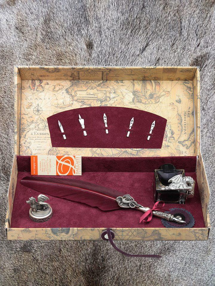 Kalligrafie Draken Set 8 delig