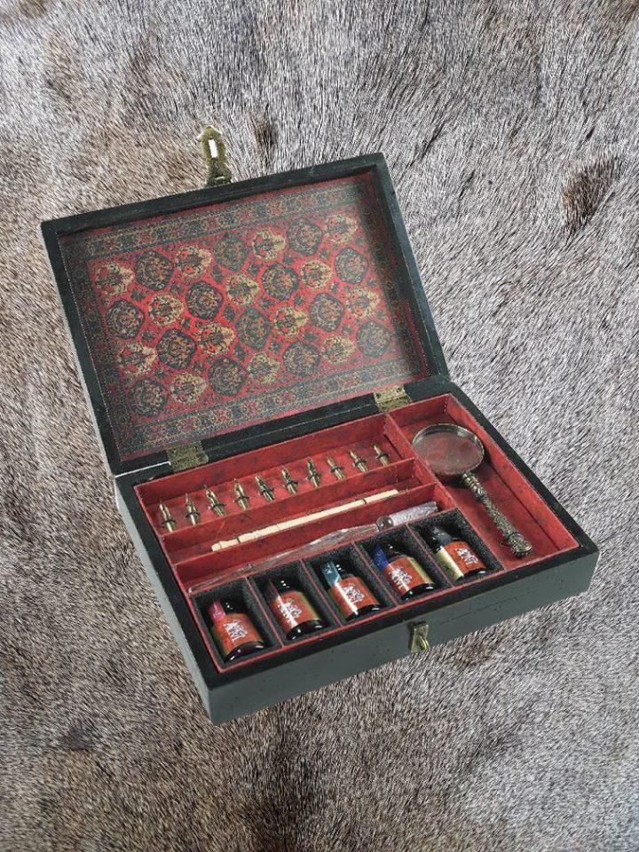 Kalligrafie Set - Schrijfset in luxe kist