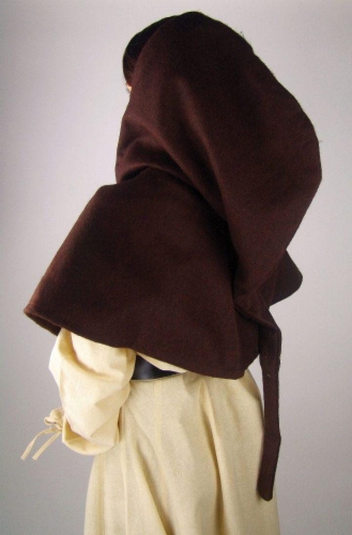 Middeleeuwse Kaproen in Bruin