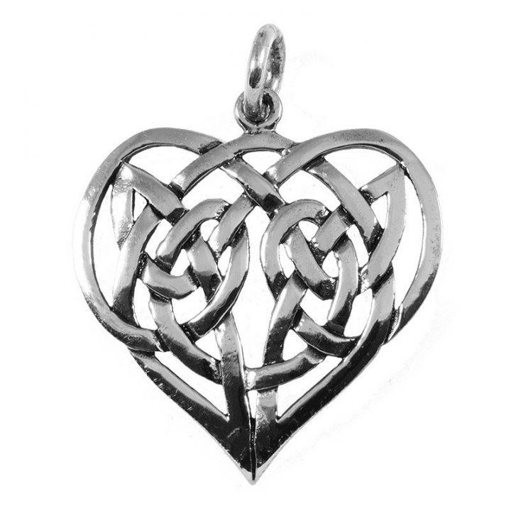 Keltische Liefdes Hanger Zilver