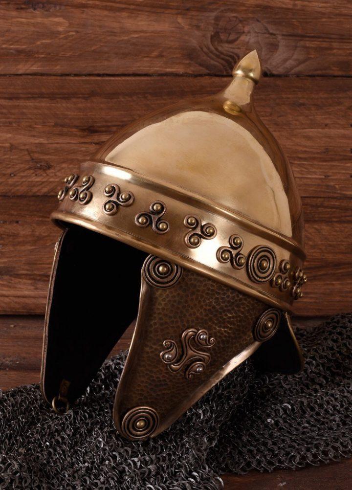 Keltische Helm van Messing 1.2 mm