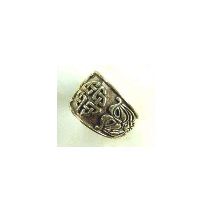 Keltischer Ring Brons Groot