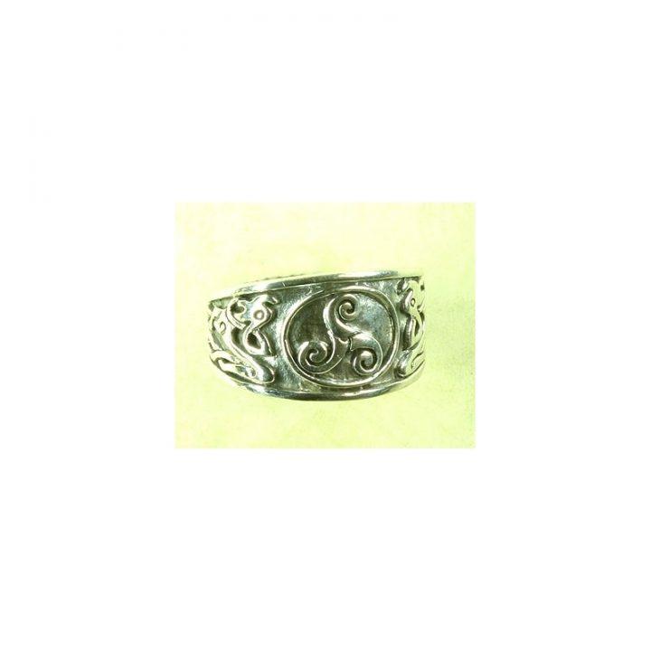 Keltische Ring brons klein