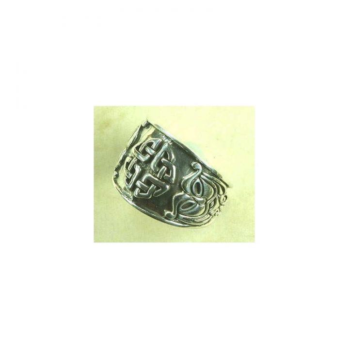 Keltischer Ring Zilver Groot