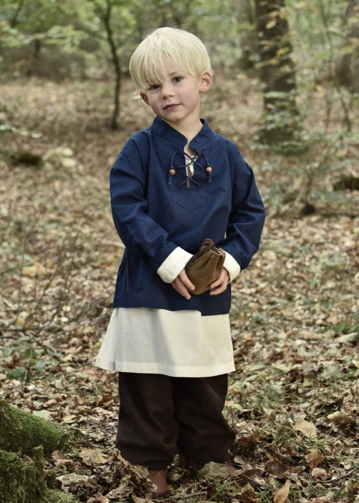 Kinder Blouse in Blauw