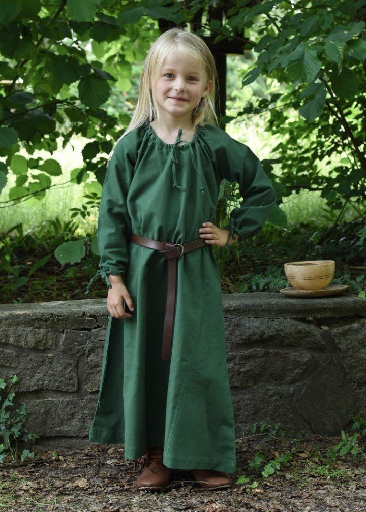 Kinderjurk Groen
