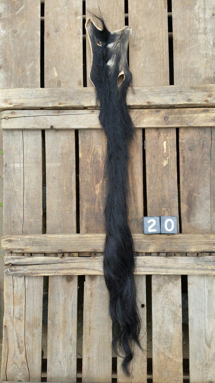 Koeienstaart Zwart +/- 88 cm