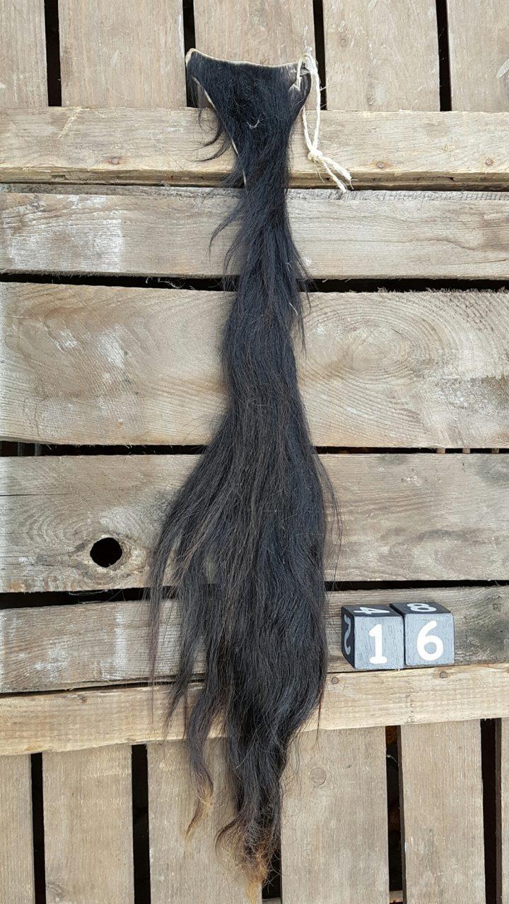 Koeienstaart Zwart +/- 70 cm