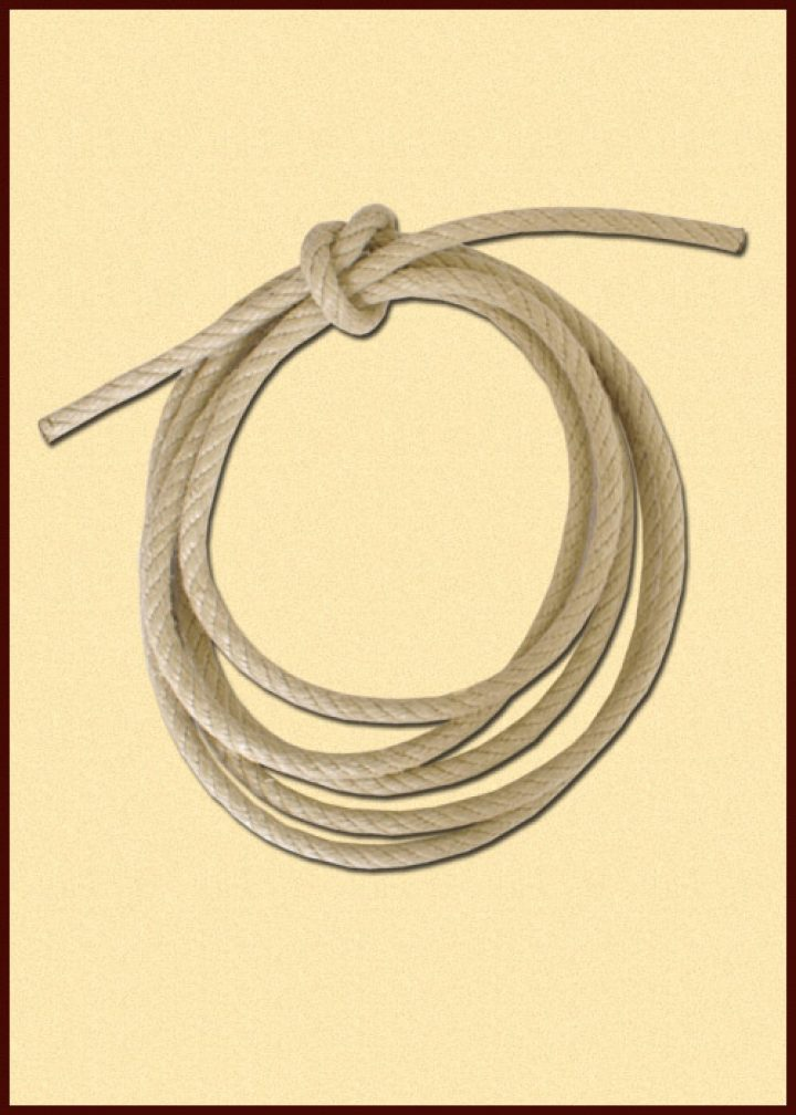 Kunsthennep touw 2 meter