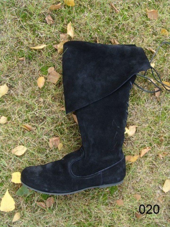 Middeleeuwse Laarzen Zwart maat 44 ( aanbieding )