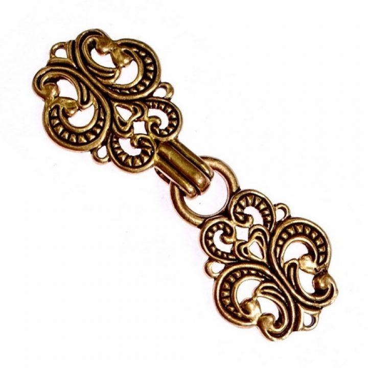 Wikinger Trachten-Verschluss Bronze