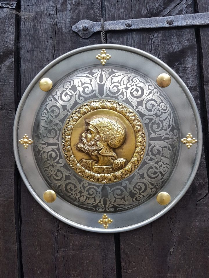 Marto Schild Charles de V van Spanje 16e eeuws