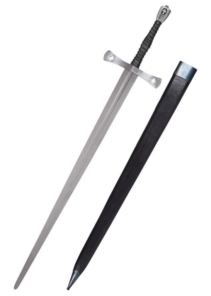 Middeleeuws 1.5 hand zwaard met Schede deko