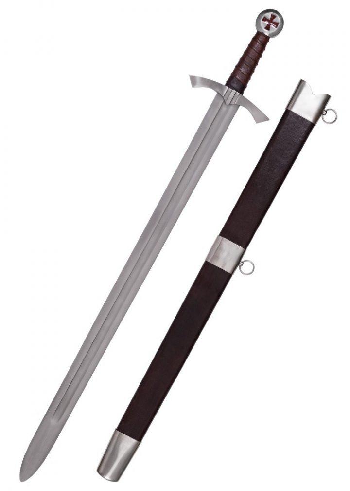 Schots Tempeliers zwaard met schede