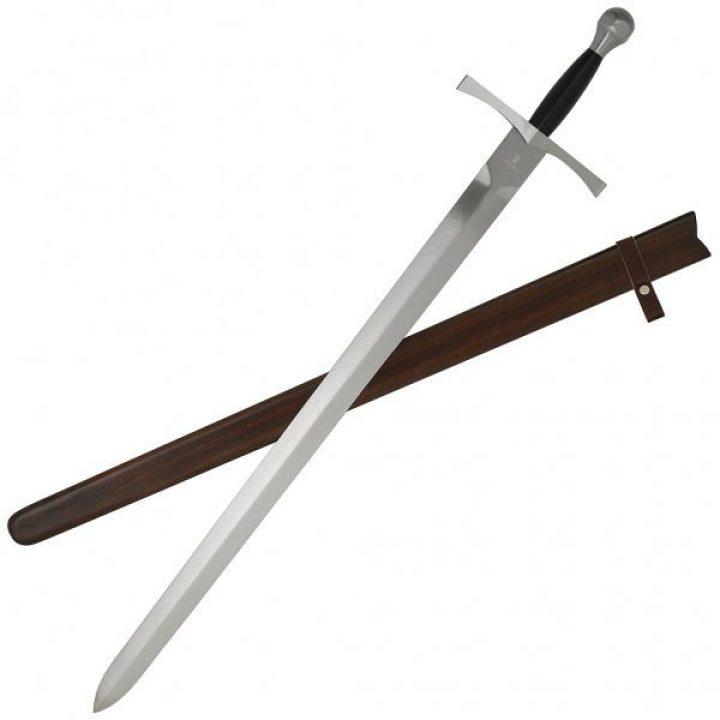 Mittelalterliches Schwert mit Scheide