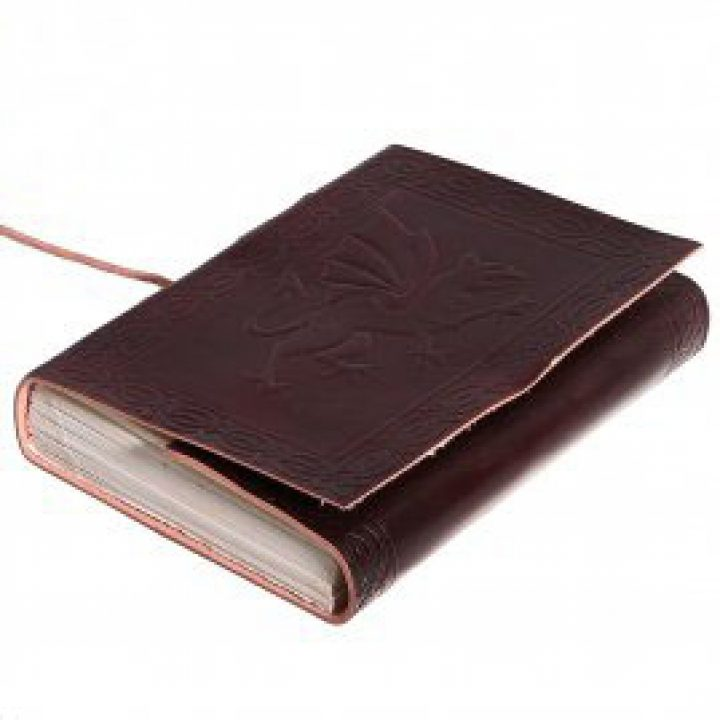 Middeleeuws notitie Boekje met Griffioen