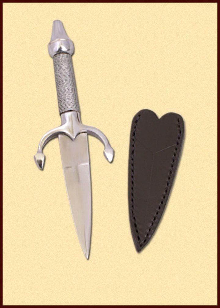 Damendolch, Stahlversion mit Scheide