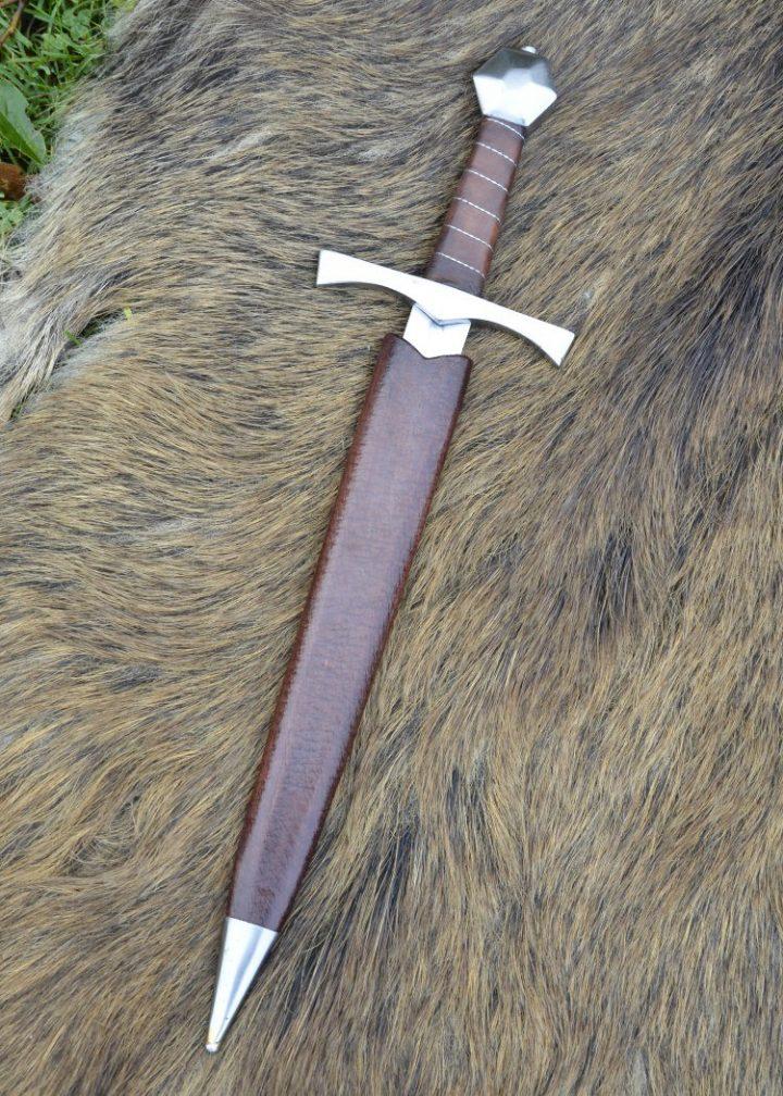 Middeleeuwse Dolk Decoratie met Schede