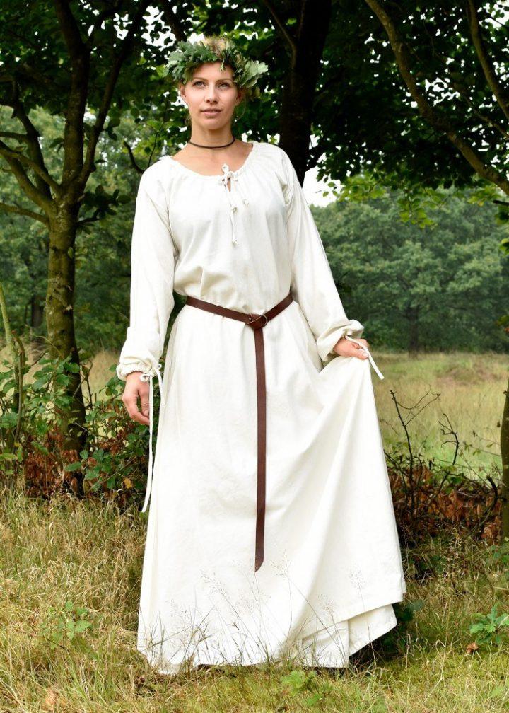 Mittelalterkleid, Unterkleid in natur