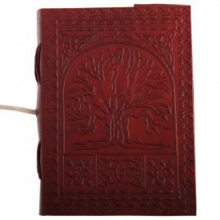 Middeleeuwse Notitieboek Tree of Life HVPP-o-001