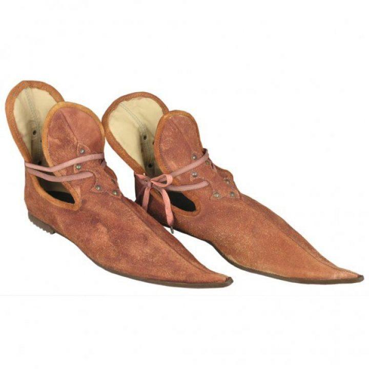 Middeleeuwse Snavel Schoenen