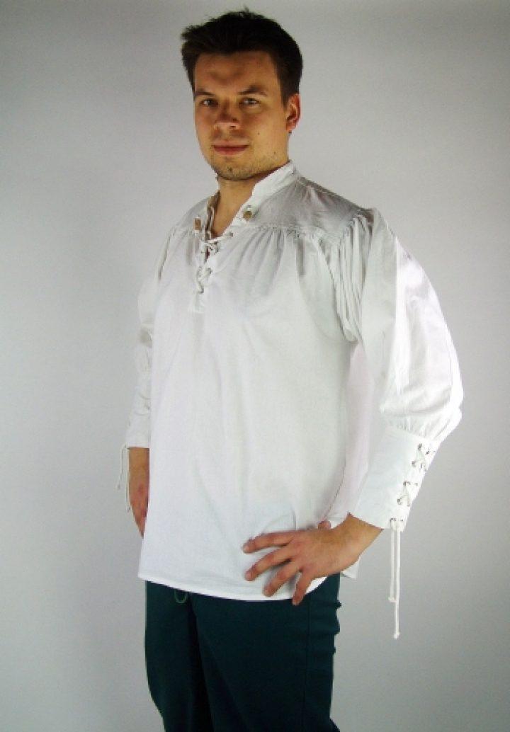 Middeleeuwse Blouse in Wit