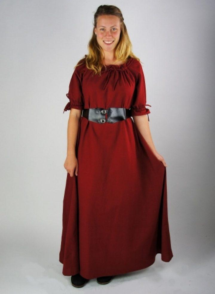 Mittelalter Kleid in Rot