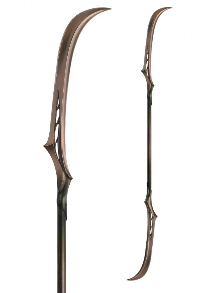 Mirkwood Double-Bladed Polearm